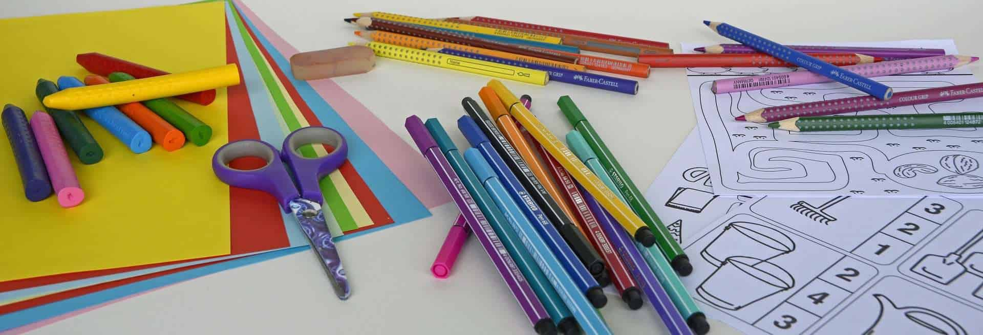 Organizing School & Art Supplies Sweet Humble Home