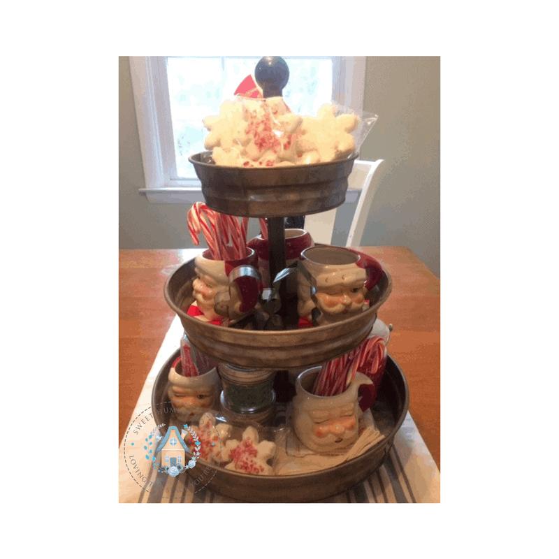 How To Create an Easy & Festive Hot Chocolate Bar - Sweet Humble Home