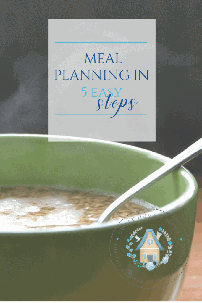Meal Plan in 5 Easy Steps