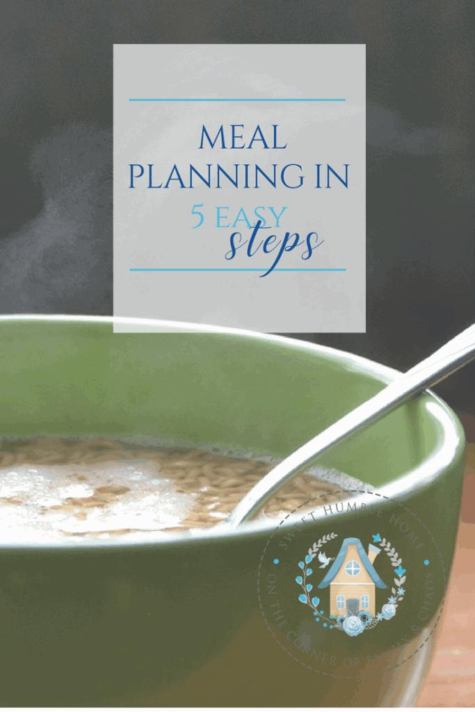 Meal Plan in 5 Easy Steps