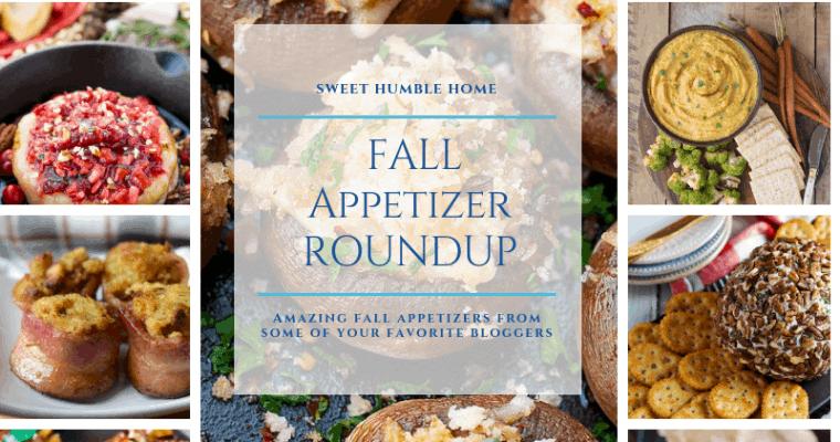 Fall Appetizer Roundup