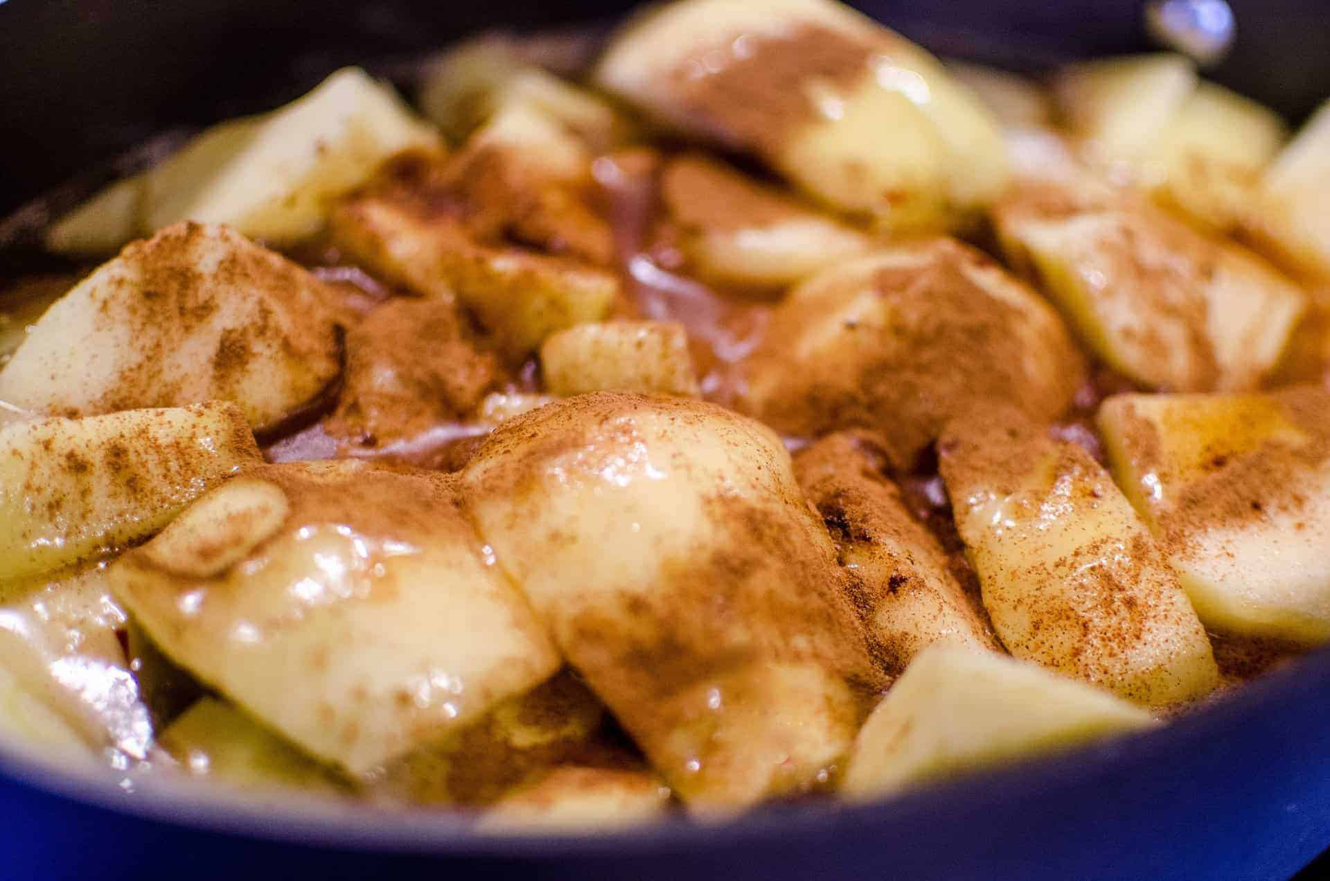 Quick Cinnamon Apples - Sweet Humble Home