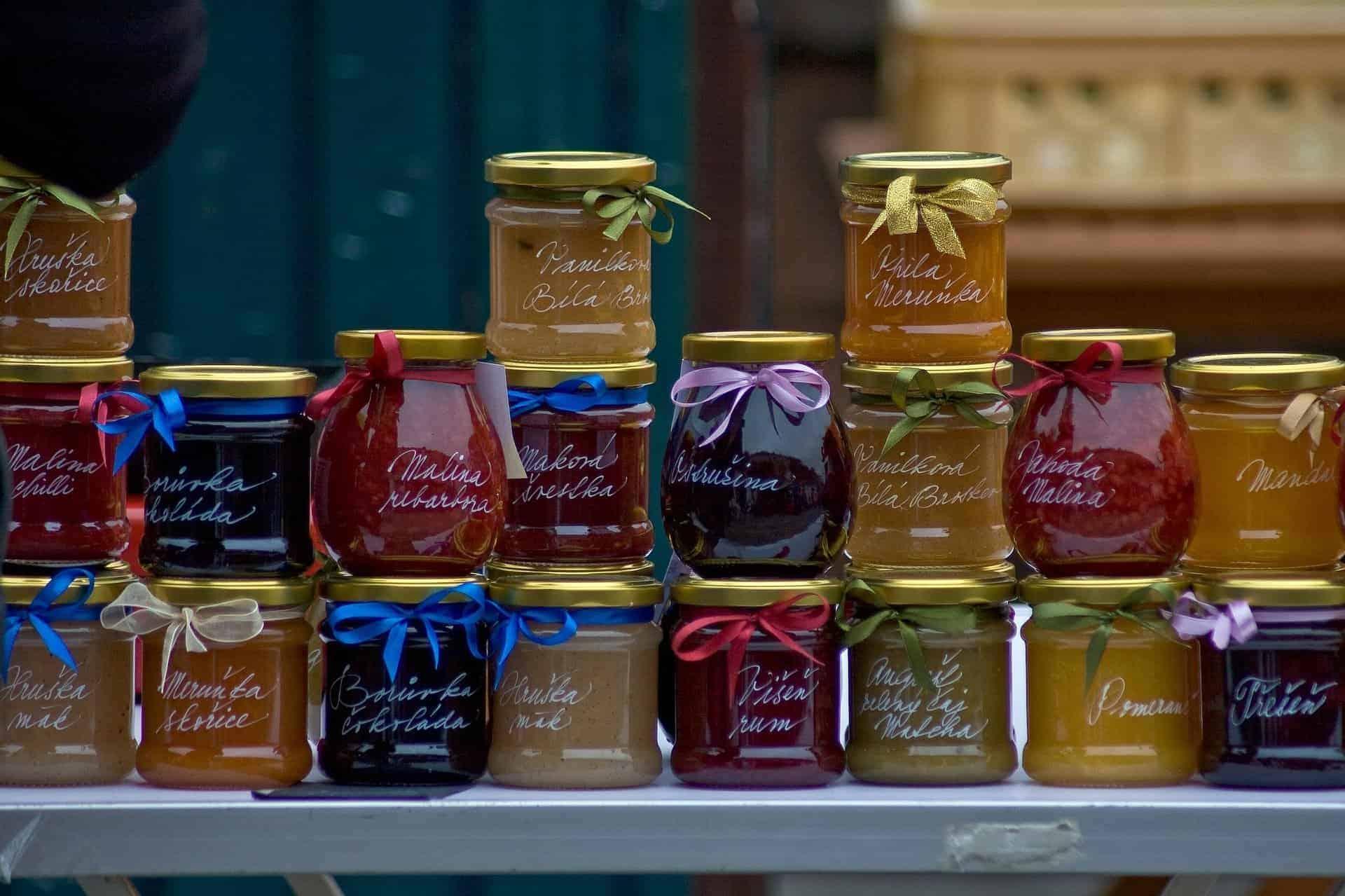 Farmers Market Jams - Sweet Humble Home