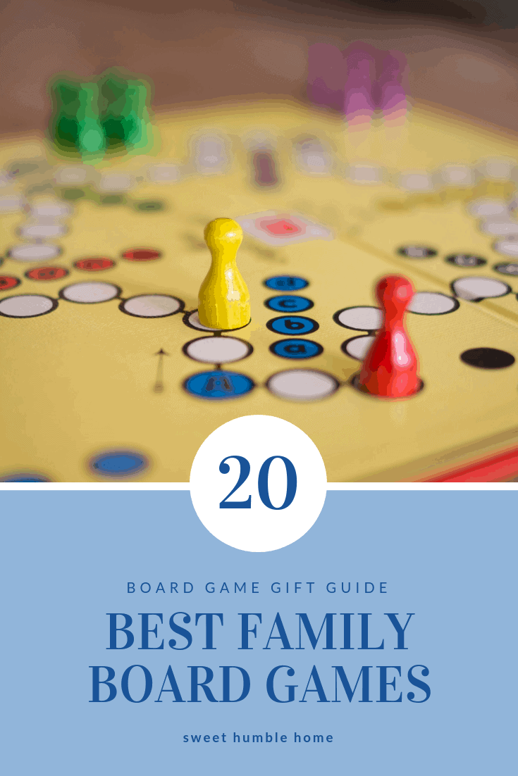 20 Best Family Board Games - Board Game Gift Guide
