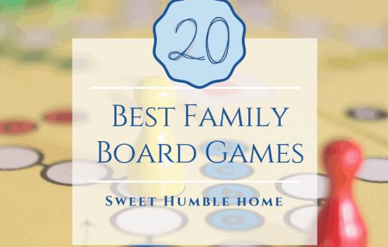 20 Best Family Board Games