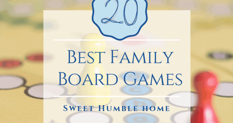 20 Best Family Board Games