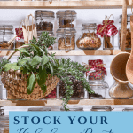 What you need to prep your pantry for the holidays