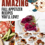 List of fall appetizers for fall with links to favorite blogs!