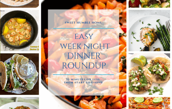 Easy Weeknight Meal Roundup