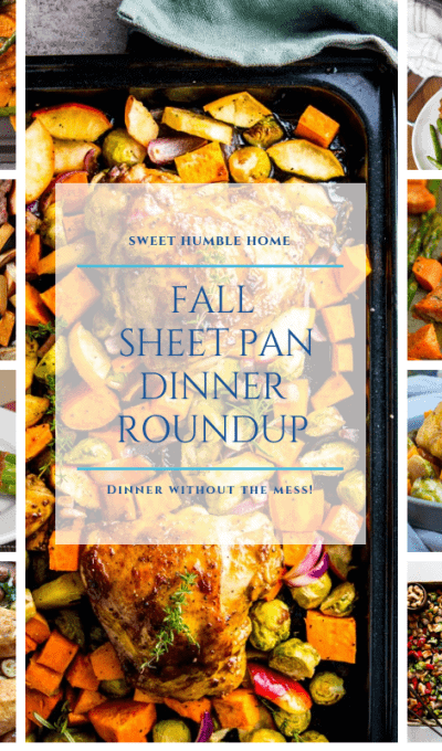 Fall Sheet Pan Dinner Roundup