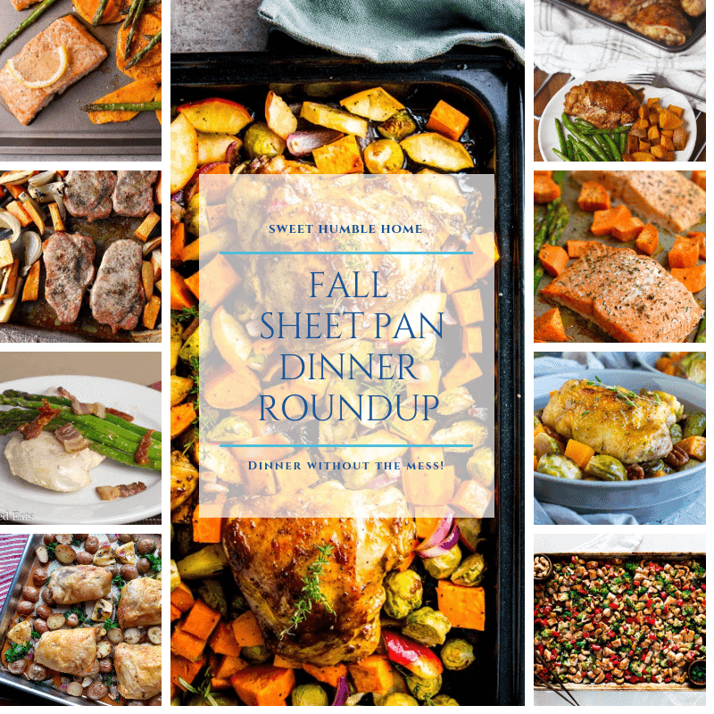Fall Sheet Pan Dinner Roundup