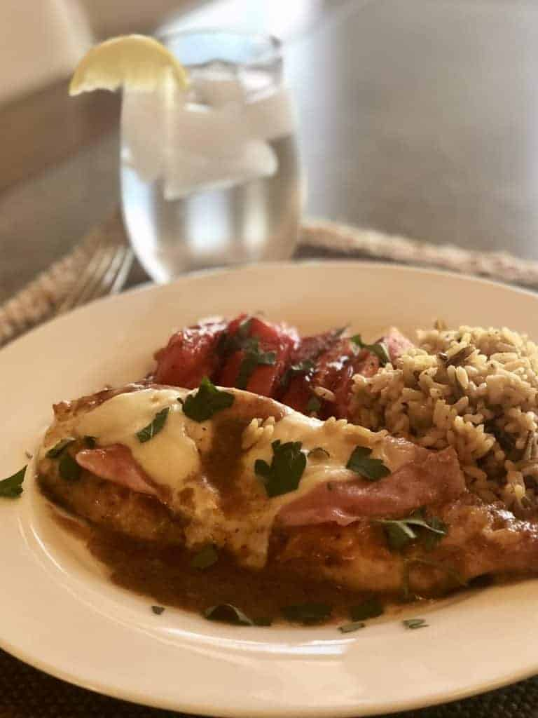 Easy Weeknight Meals - Skillet Chicken Cordon Bleu - Sweet Humble Home