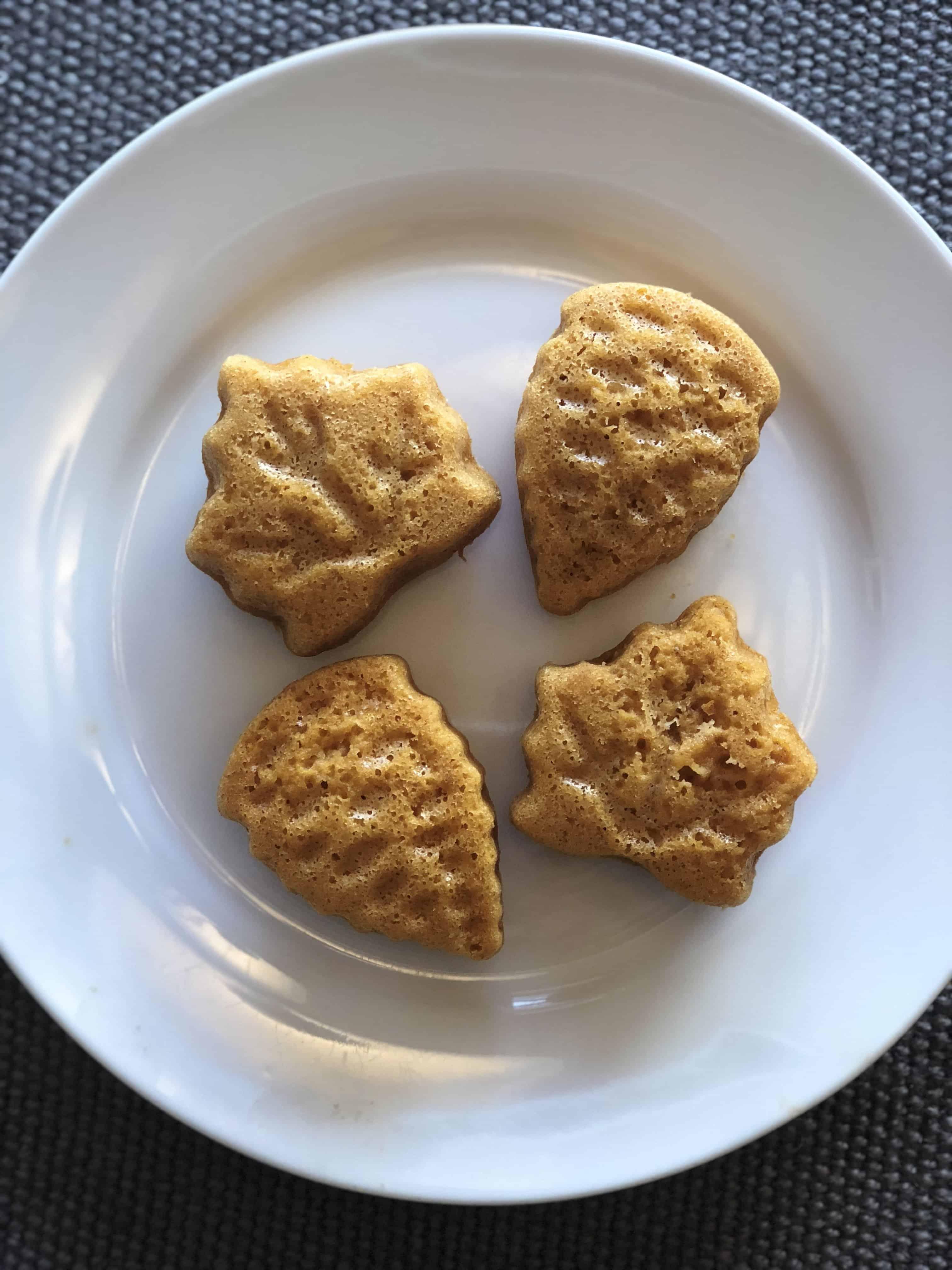 Easy Angel Food Pumpkin Cakes - Sweet Humble Home
