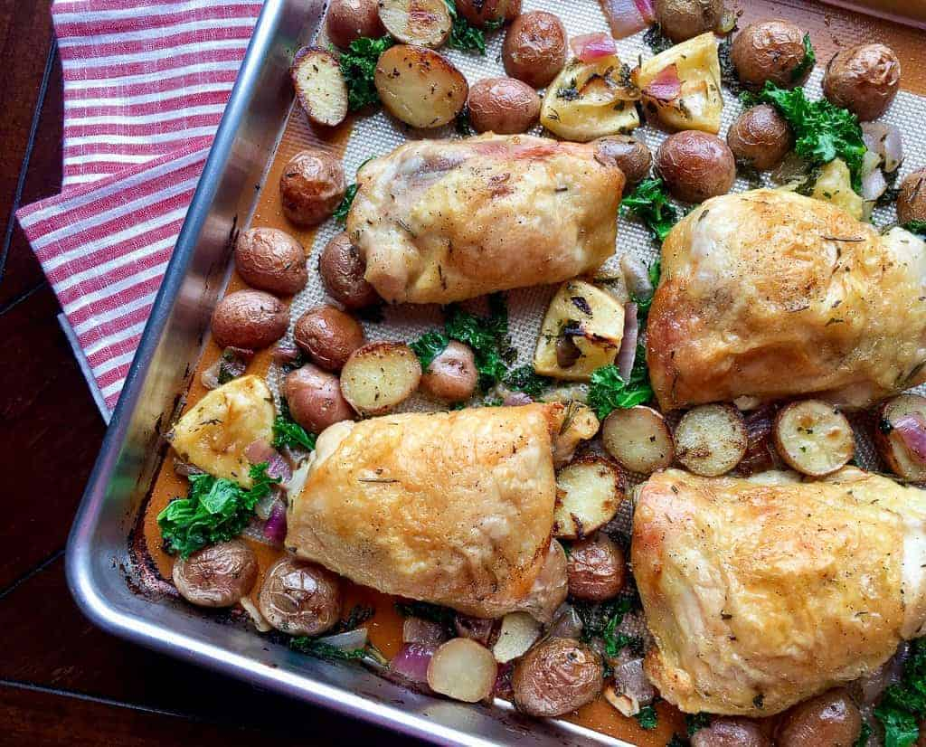 Sweet Humble Home Fall Sheet Pan Dinner Roundup - With Leah @ Zesty Olive