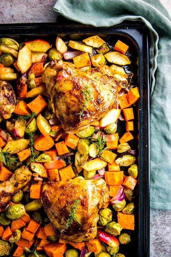 Sweet Humble Home Fall Sheet Pan Dinner Roundup - with Nora at Savory Nothings