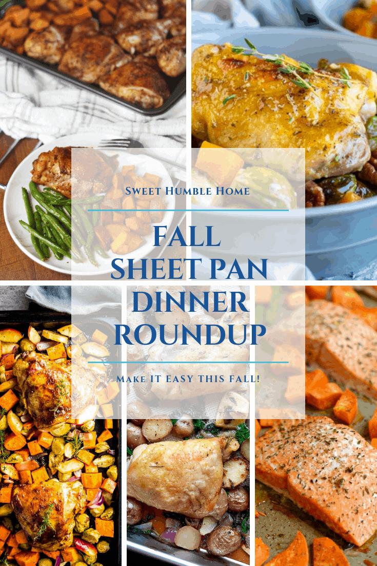 Sweet Humble Home Fall Sheet Pan Dinner Roundup