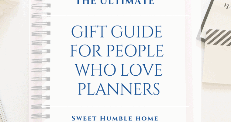 Ultimate Planner Gift Guide