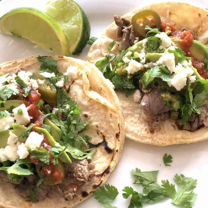 Easy Ribeye Steak Tacos - Sweet Humble Home