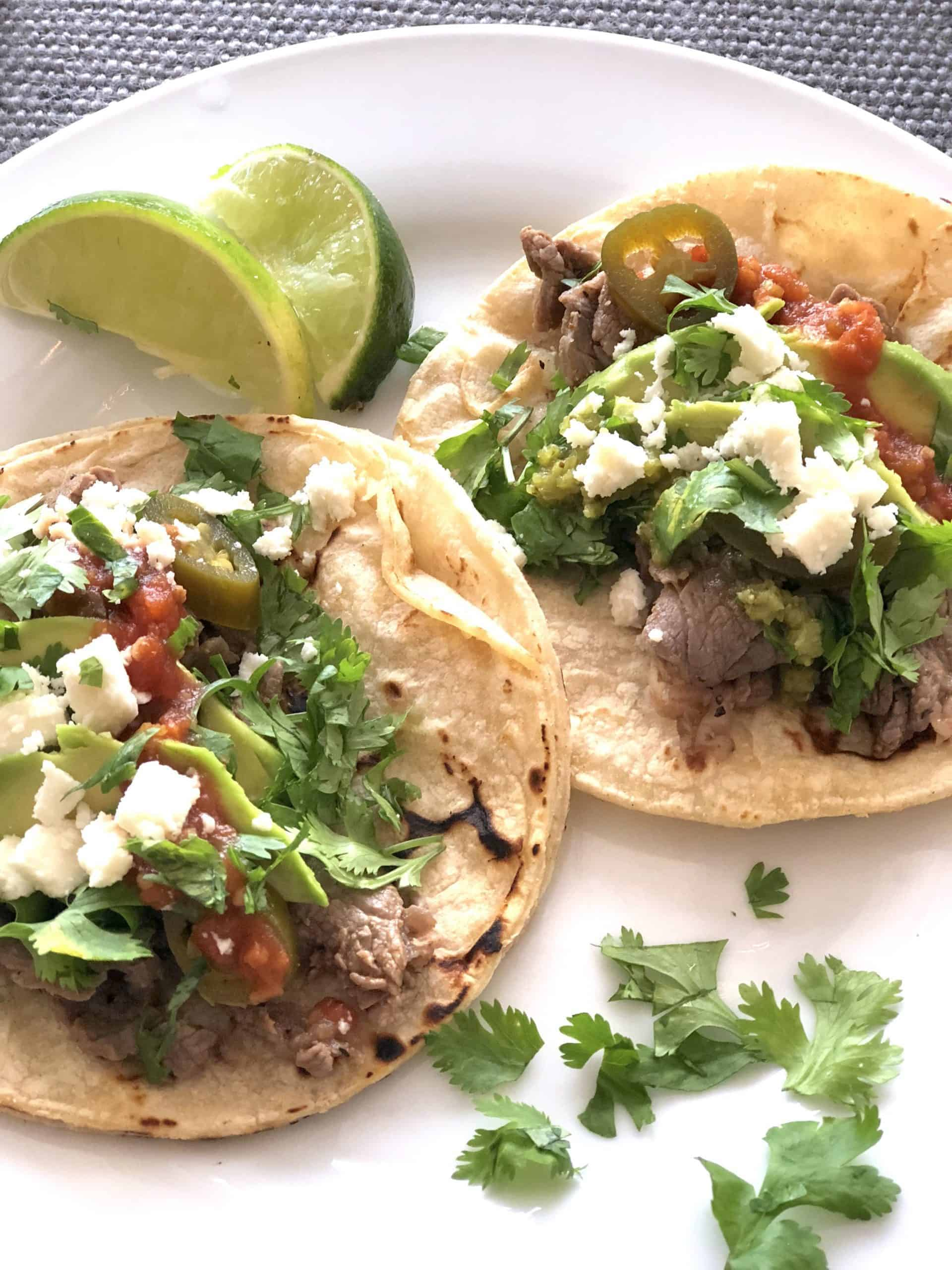 Easy Ribeye Steak Tacos Recipe