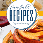 Roundup of recipes with a fall theme for family get-togethers or parties.