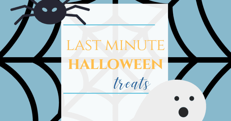 Last Minute Halloween Party Treats