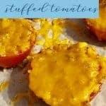 Easy Side Dish - Stuffed tomatoes