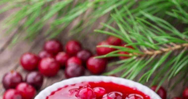 Thanksgiving's Best Cranberry Sauce