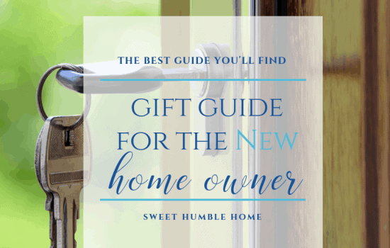 Gift Guide for the New Home Owner