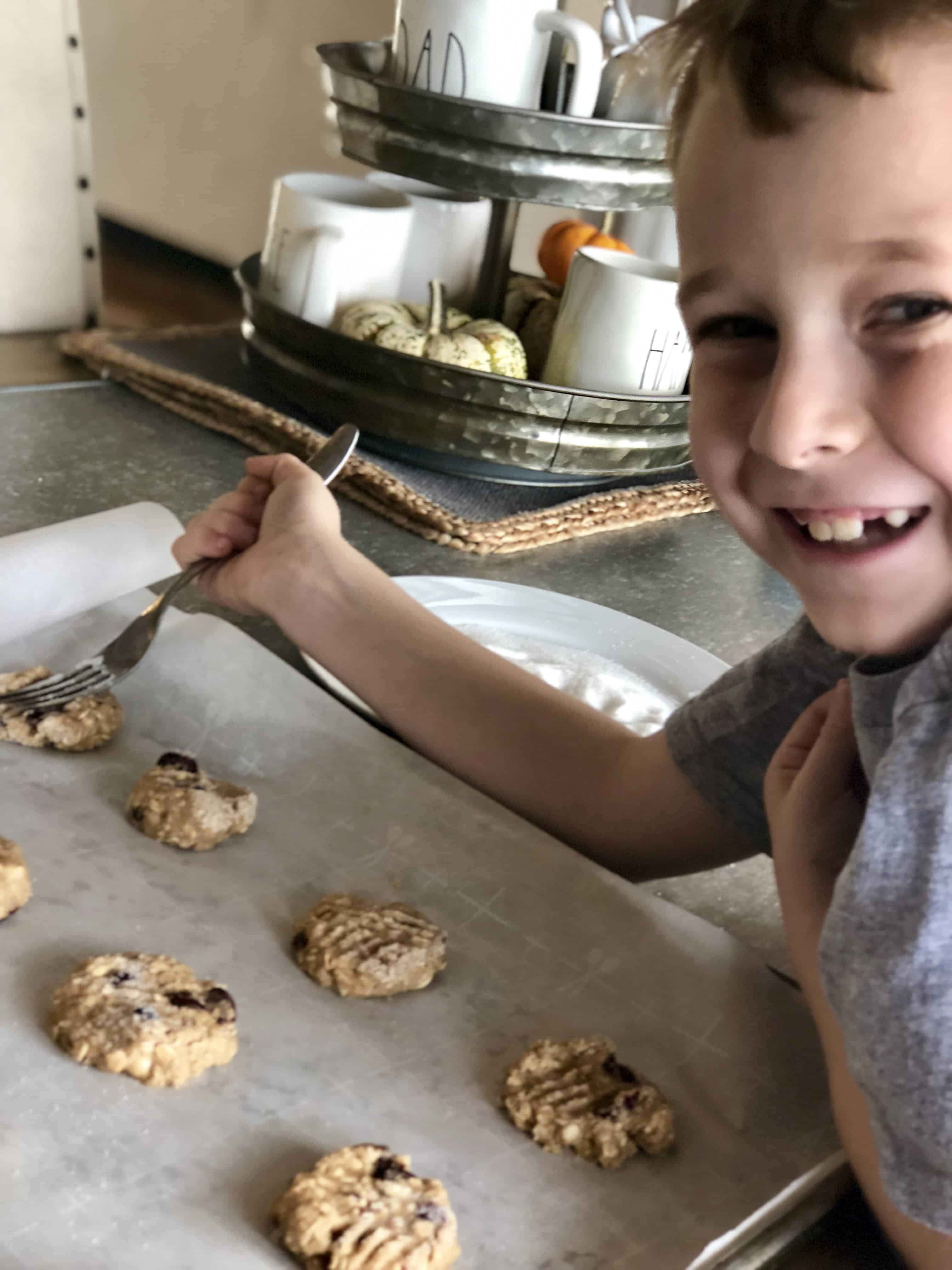 Oatmeal White Chocolate & Cranberry Cookies - Sweet Humble Home