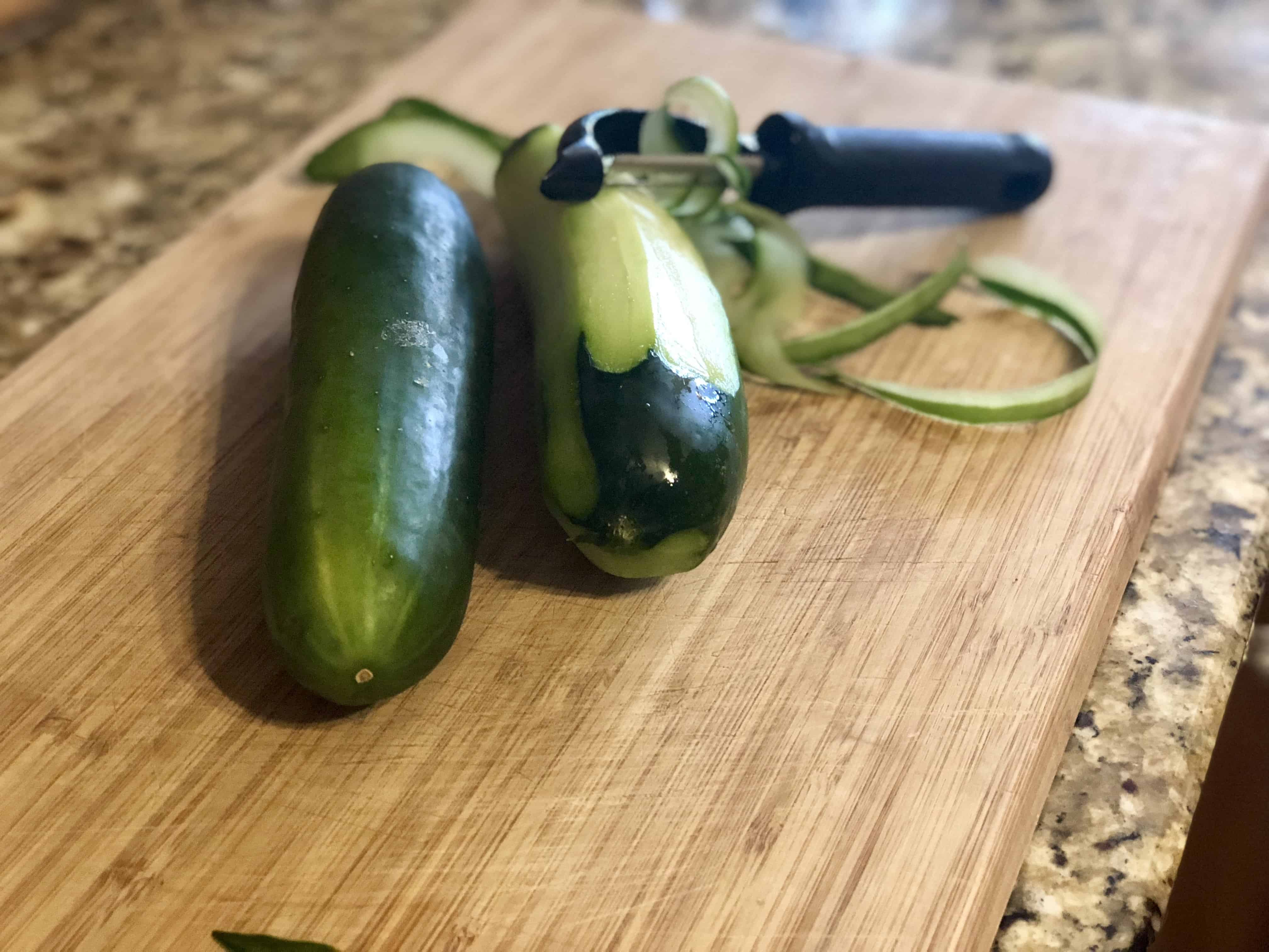 Easy Cucumber Salad - Sweet Humble Home