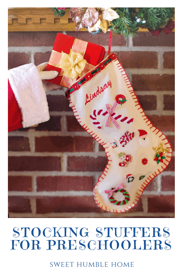 Stocking Stuffers for Preschoolers - Sweet Humble Home