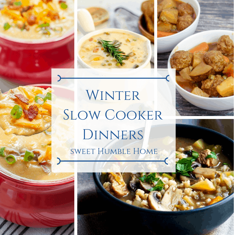 Winter Slow Cooker Recipes