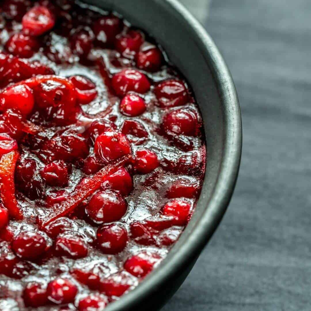 Thanksgiving's Best Cranberry Sauce