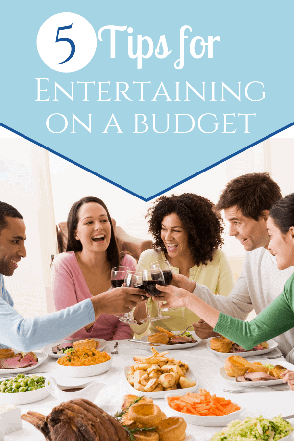 5 Tips For Entertaining on a Budget - Sweet Humble Home