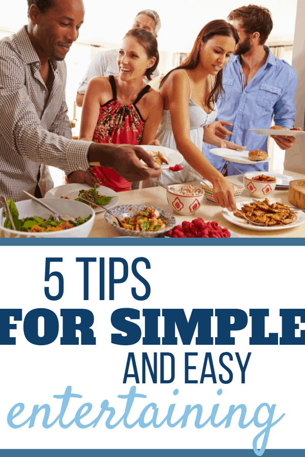 5 Tips for Simple Entertaining - Sweet Humble Home