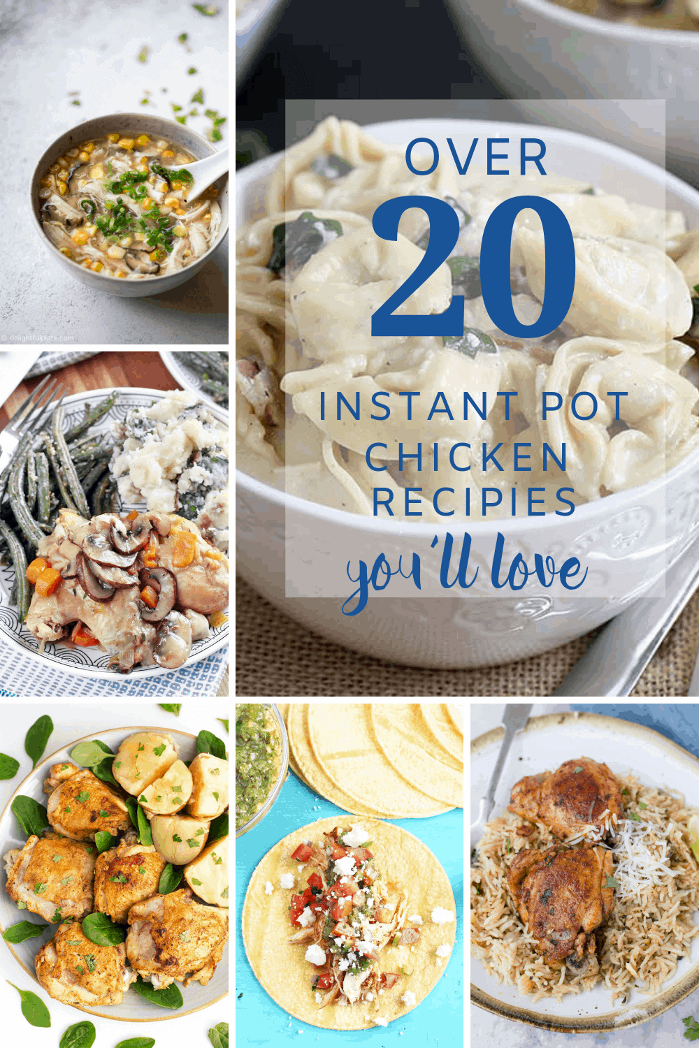 Favorite Instant Pot Chicken Recipes - Sweet Humble Home