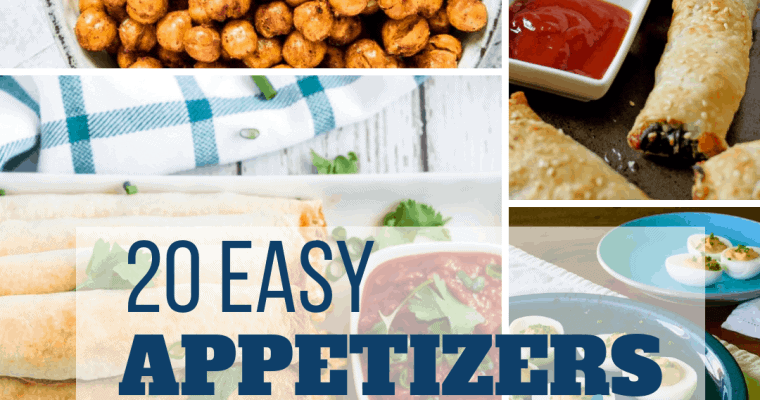 20 Easy Appetizers for a Party