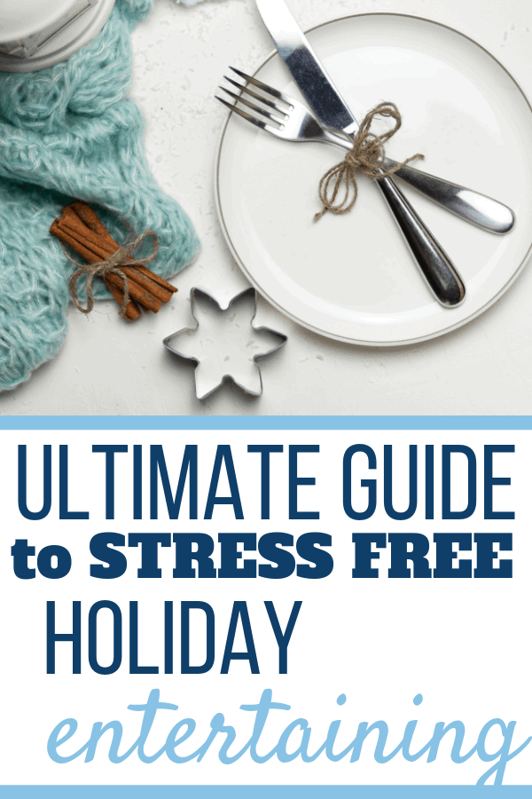 Does the idea of holiday entertaining have you stressed? In this guide you'll find tips, recipes, ideas, and more about how to entertain this holiday without the stress! We'll cover appetizers, dinner recipes, buffet tables, short cuts and more! #christmasentertaining, #holidayentertaining, #holidayrecipes, #holidayguide, #trendsandtips, #thanksgivingideas