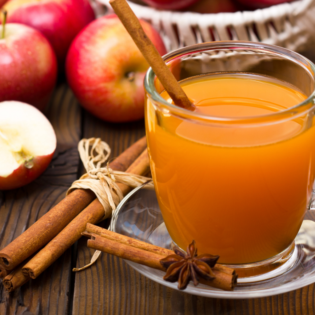 Hot Apple Cider Spiked With Rum - Sweet Humble Home