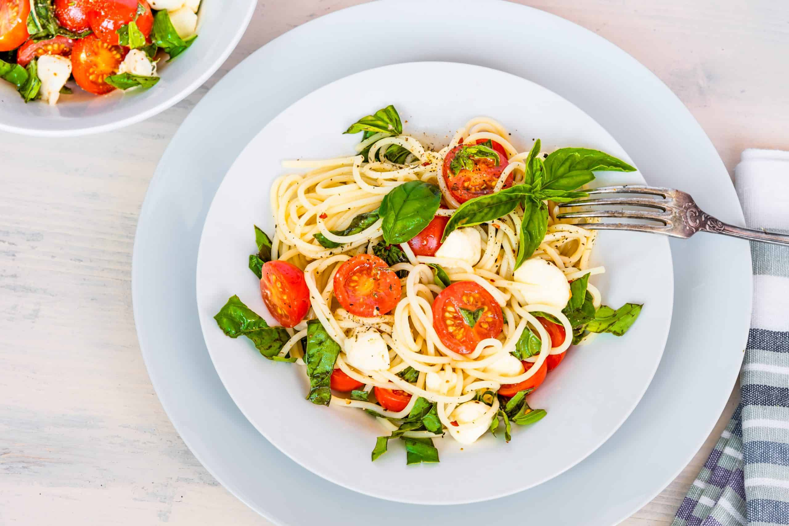 Easy Pasta Caprese Recipe