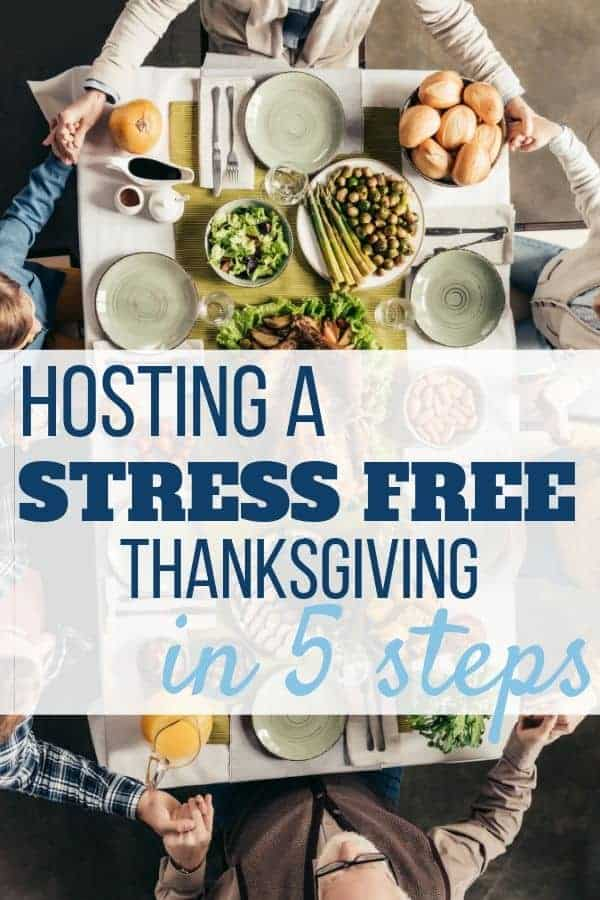 5 Steps to Stress Free Thanksgiving Hosting - Sweet Humble Home