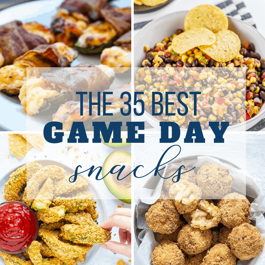 Best Snacks for Game Day! (35 TOP APPETIZERS)