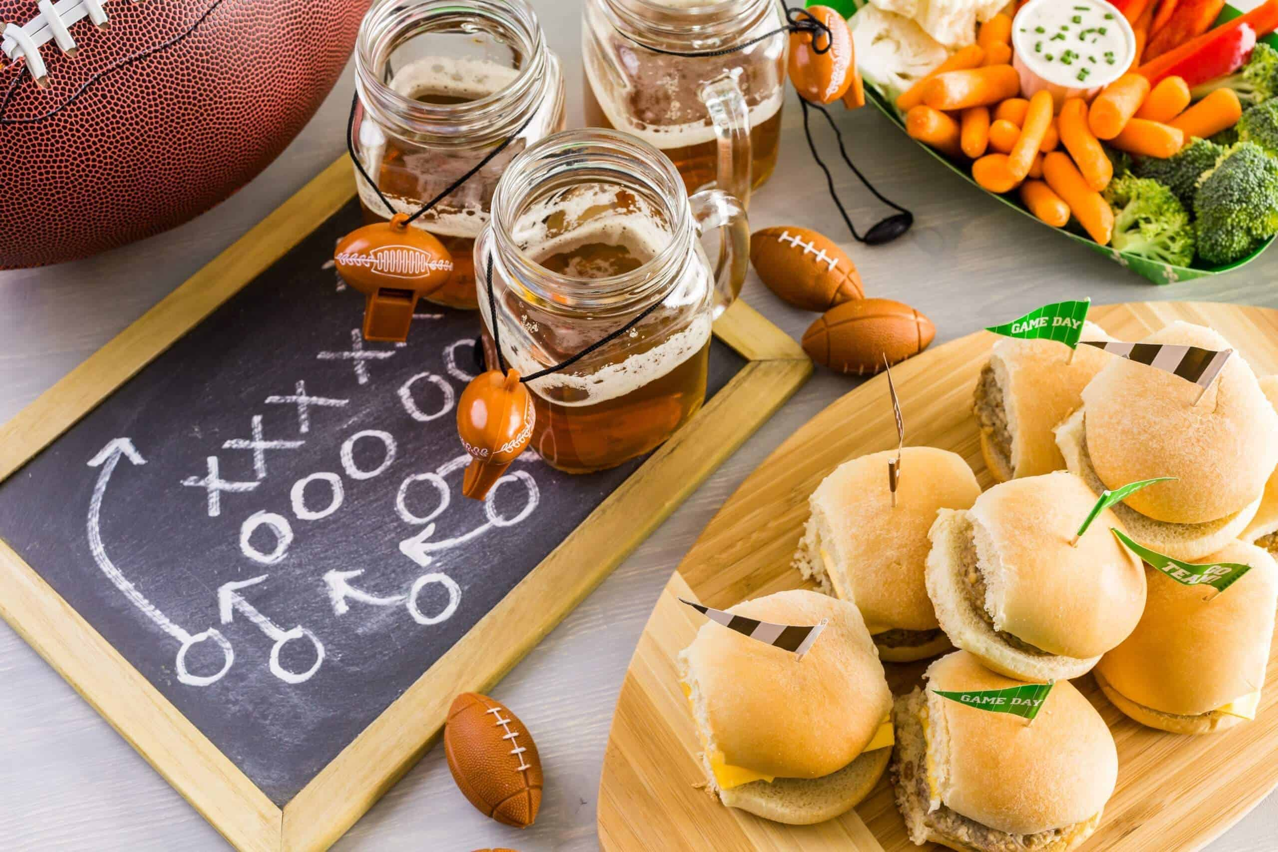 Easy recipes for tailgating or home gating for the big game.