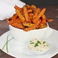 Moxie's Copycat Sweet Potato Fries and Dip