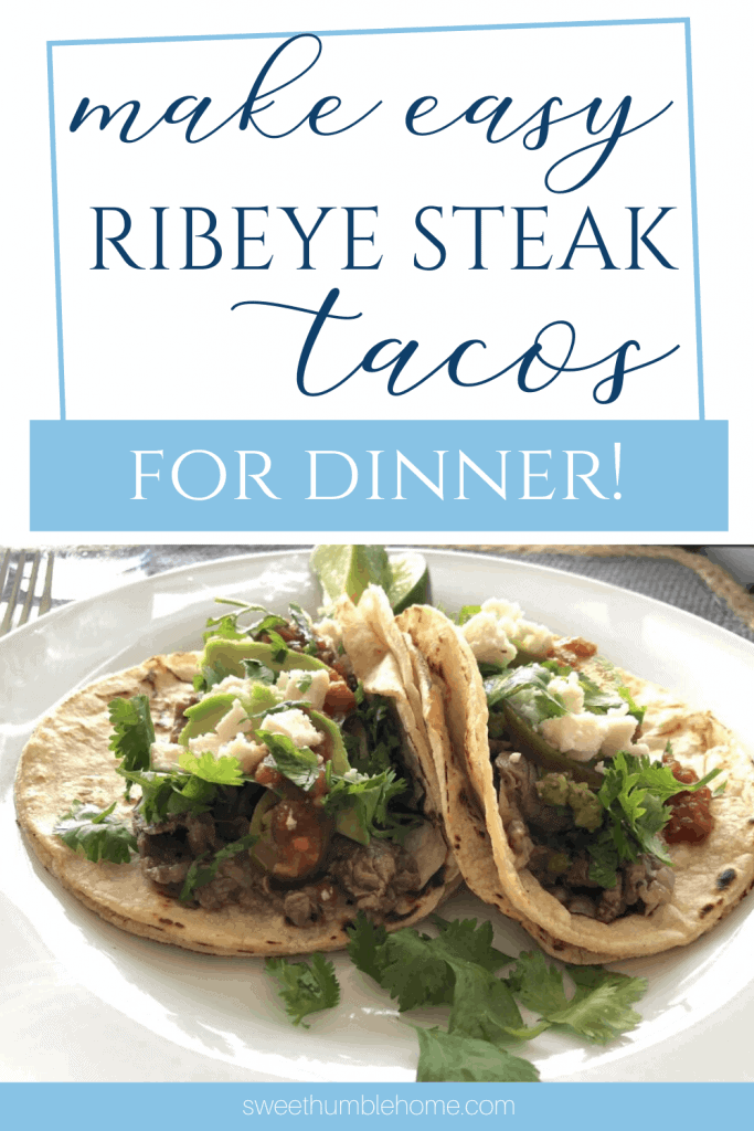 Easy Ribeye Steak Taco Recipe