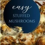 Quick & Easy Stuffed Mushrooms Recipe