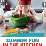 Recipes and activities to do together in the kitchen with your kids - a six week plan!