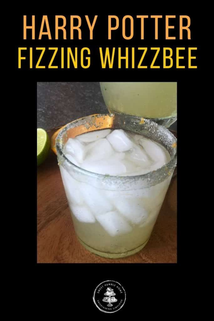 Harry Potter Inspired Cocktail - the Fizzing Whizzbee