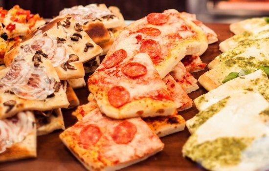 Focaccia Mini Pizza Appetizer