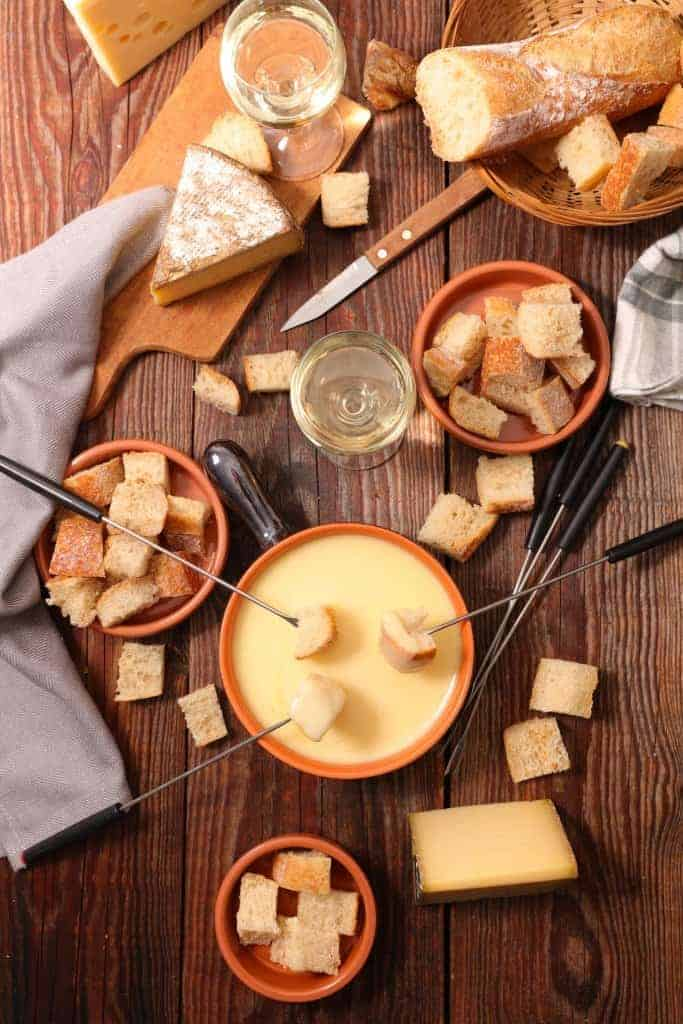 Easy Cheese Fondue Recipe with step by step instructions!